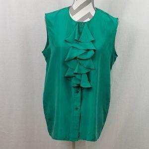 Rafaella 100% Silk Blouse